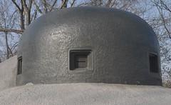 Bunker detail.