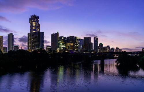 Downtown Austin, Texas at Dawn