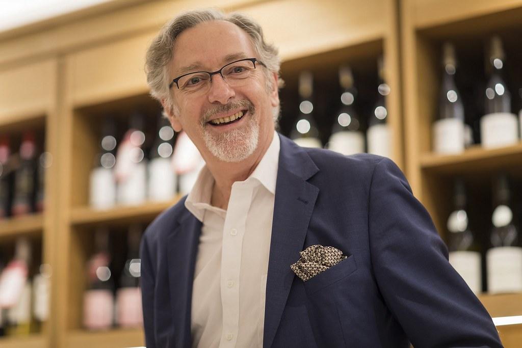 圖6:誠品酒窖於此次藏酒品鑑會活動期間亦規劃品酒會,帶來多款Laurent Ponsot頂級佳釀。(圖為法國Laurent Ponsot酒莊莊主) (1)