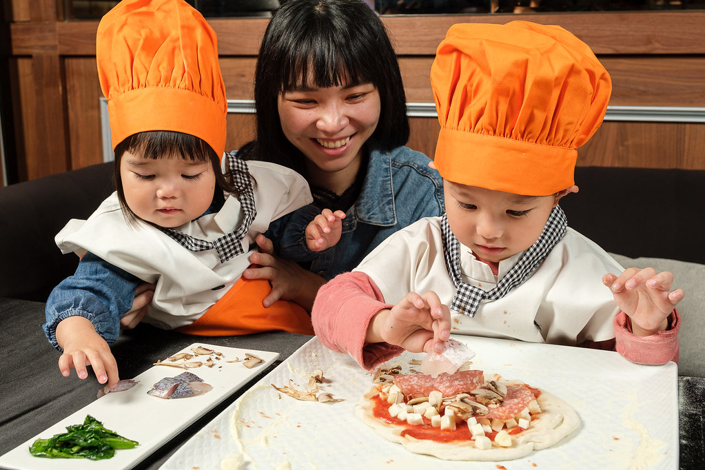 大安東尼隨意鳥地方_四月兒童節pizza體驗營_活動形象照1