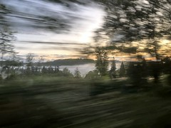 Photo of Sunrise from train