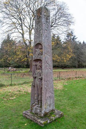 King James Obelisk, Dryburgh
