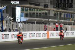 Pol Espargaró - Stefan Bradl. Doha GP 2021