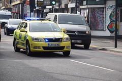 Photo of DSC_9311 Shoreditch London Old Street 2013 �koda Octavia TDI CR S-A 4X4 Diesel 1968 cc Emergency Response Ambulance LX13CVG This vehicle is not Ultra Low Emission Zone ULEZ compliant