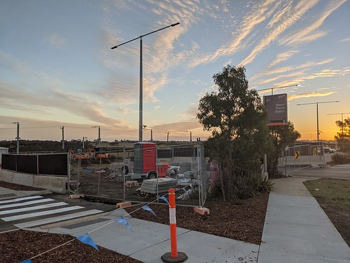 Center Carpark closed at Waurn Ponds for construction of the new Overpass