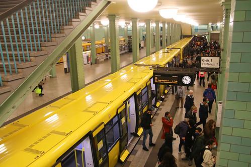 U-Bahn, Alexanderplatz, Berlin, October 10th 2020