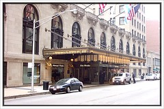 Chicago Il ~ Drake Hotel ~ Historic Building - Main Entrance