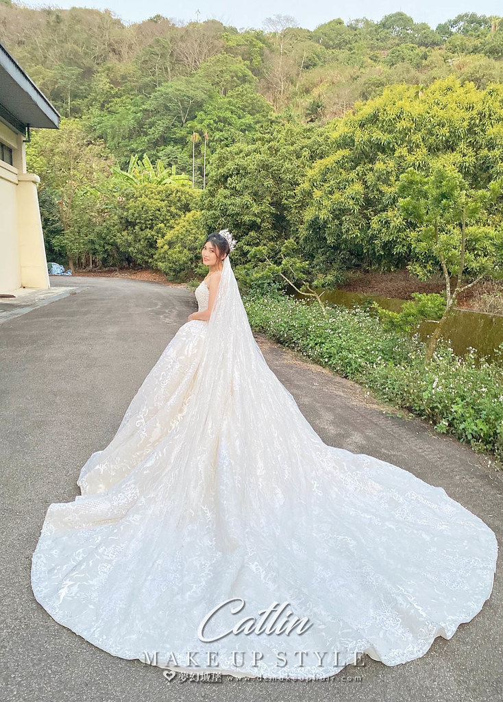 【新秘Catlin 】bride若芸 結婚造型 /華麗公主,仙氣甜美