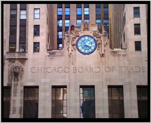 Chicago IL ~ Chicago Board of Trade Building ~ A View From La Salle St.