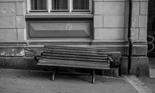 street bench, oslo, early 20s (21st Century)