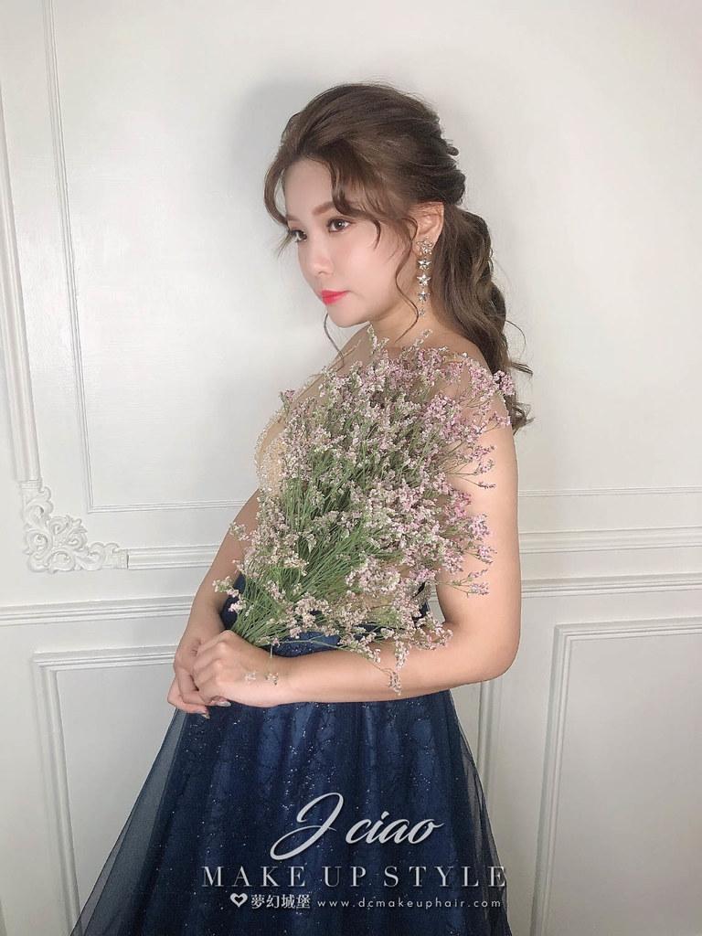 【新秘婕喬】新娘造型創作 / 韓系唯美公主頭