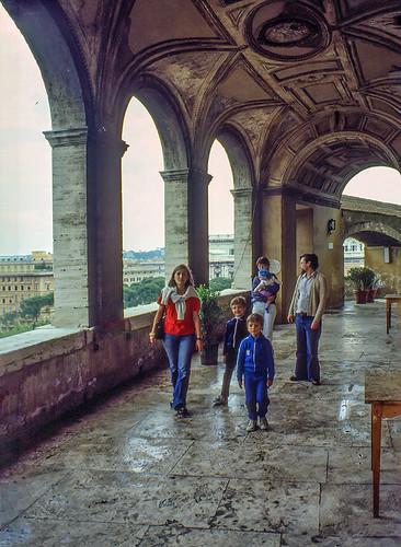 Visita a Castel Sant'Angelo (aprile 1980)