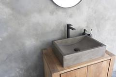 Torino Dusk Grey Concrete Design Basin