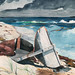 After the Hurricane, Bahamas (1899) by Winslow Homer. Original from The Smithsonian Institution. Digitally enhanced by rawpixel.