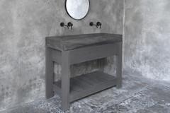 Diamond Grande Dusk Grey Concrete Sink