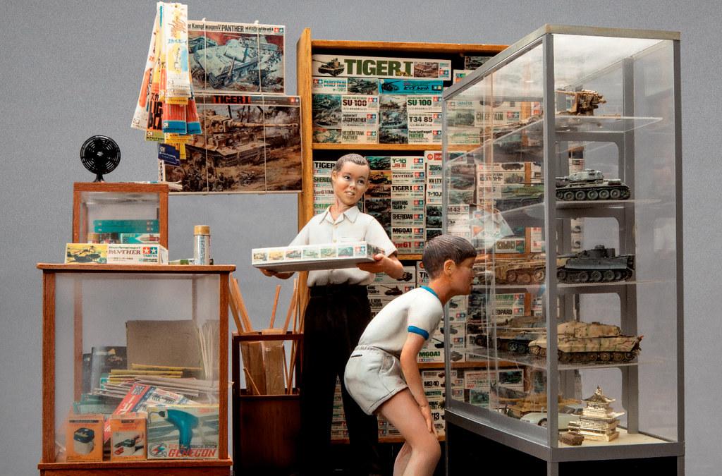 5 宅男的房間-《模型少年的日常》山田卓司