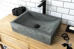 Torino Copper Green Concrete Design Basin