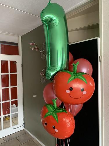 Ballonboeket 1 Jaar Tomaat Tomaten Groente