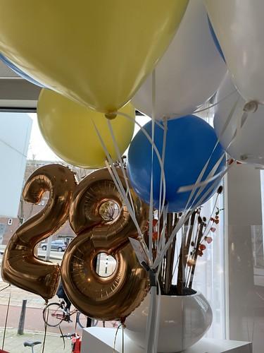 Heliumballonnen Mainport Hotel Rotterdam