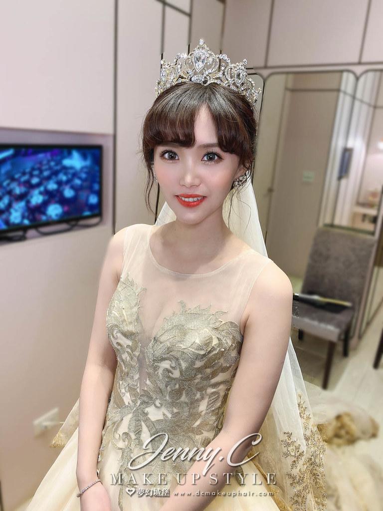 【新秘蓁妮】bride 佳琪 宴客造型 / 華麗公主,韓系甜美