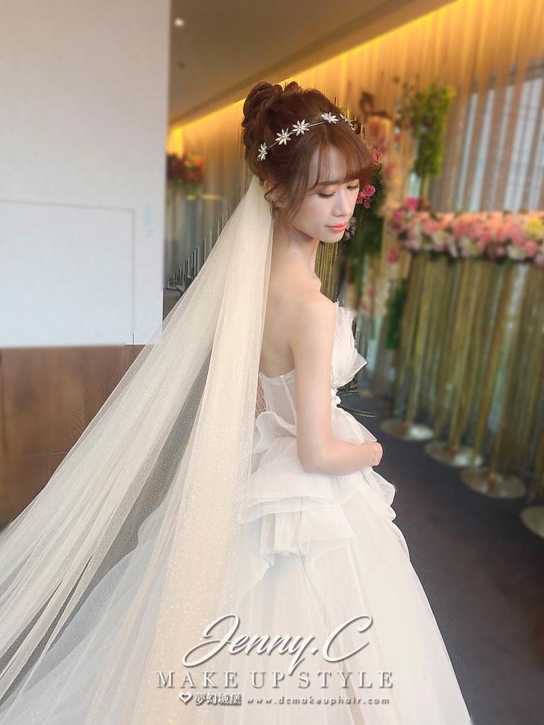 【新秘蓁妮】bride 郁茹 結婚造型 / 韓系優雅風