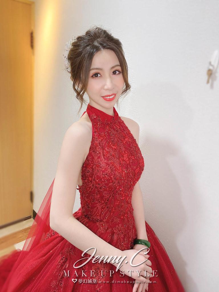 【新秘蓁妮】bride佳錦 訂結婚造型 / 華麗公主,仙氣公主