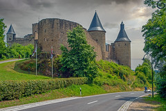 Le château de Bourscheid - Bourscheid - Diekirch - Luxemburg