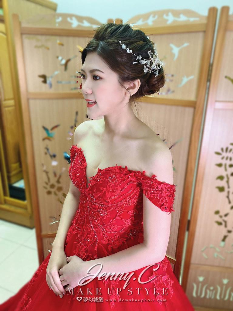 【新秘蓁妮】bride思靜 訂婚造型 / 氣質高雅