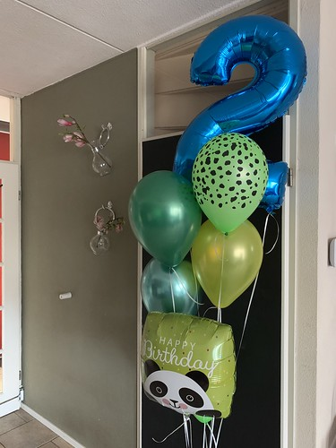 Ballonboeket Verjaardag 2 Jaar Jungle