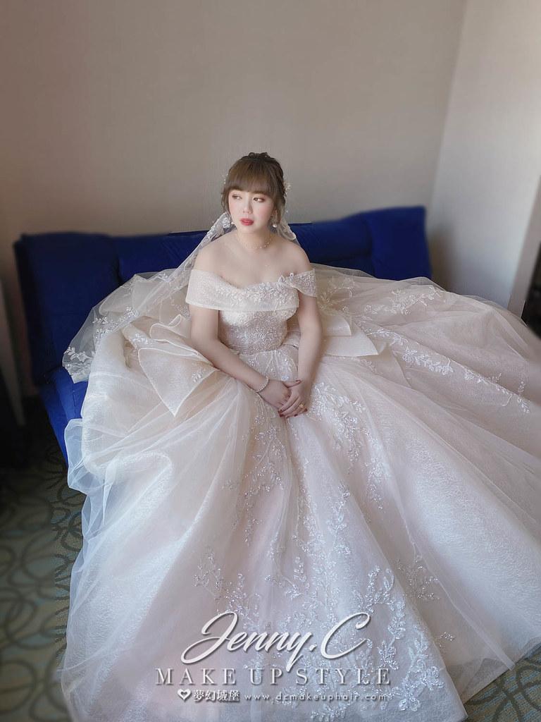 【新秘蓁妮】bride 曉均 訂結婚造型 / 優雅韓系風