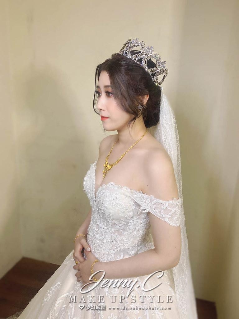 【新秘蓁妮】bride玟儀 結婚造型 / 華麗混血公主
