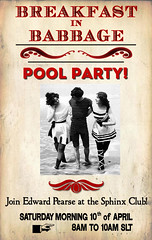 Breakfast in Babbage: Pool Party!
