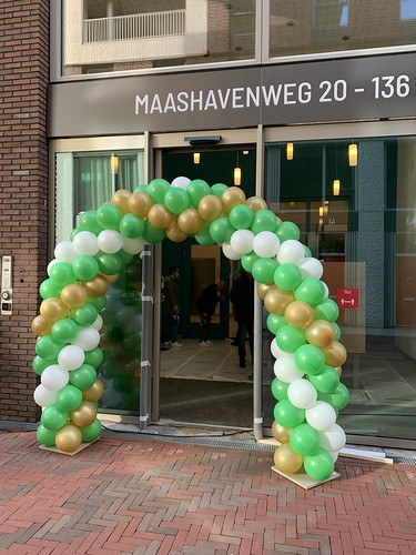 Ballonboog 6m Oplevering De Groene Kaap Rotterdam
