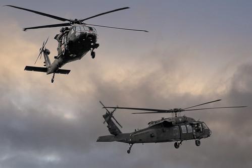Aankomst helikopters van de 101 Airborne Division US Army, From FlickrPhotos