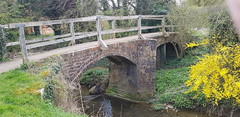 Photo of Old and new crossings of the river Gwash at Braunston-in-Rutland