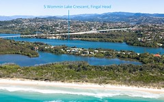 5 Wommin Lake Crescent, Fingal Head NSW