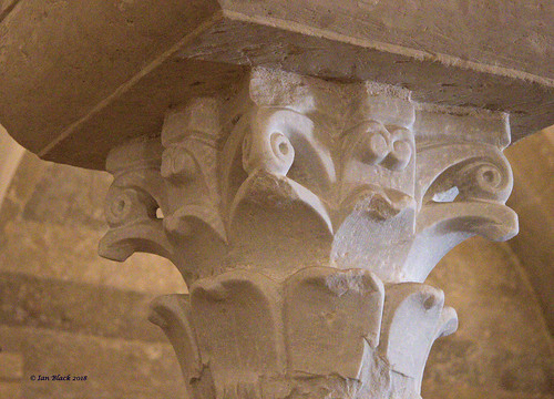 Romanesque carving
