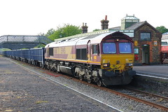 Photo of 66161 at Quainton road