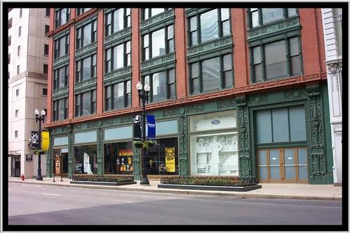 Chicago Illinois ~ Oliver Building ~ HIstoric ~ Chicago Landmark