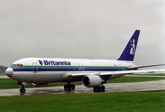 Photo of ZK-NBJ Britannia Airways Boeing 767-204(ER)