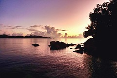 Dawn at La Saline, Praslin, Seychelles
