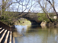 Photo of 1809 - North Bridge Newport Pagnell - 04Apr21 grade II listed.