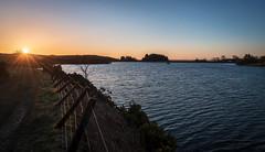 Photo of April sunrise, Kaim Dam, Lochwinnoch, Renfrewshire, Scotland, UK