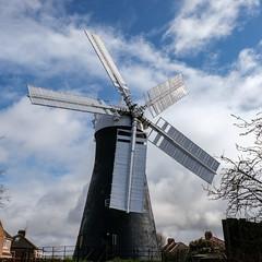 Holgate Windmill, March 2021 - 01