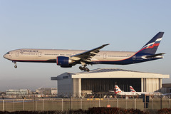Photo of Aeroflot Boeing 777-300(ER) VQ-BUC