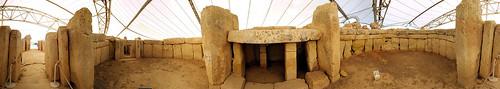 Malta - Mnaidra Temple interieur 360° 2