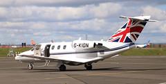 Photo of Cessna Citation: 525-0292 G-KION Cessna 525 Citationjet Newcastle Airport