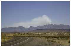 Fire in Big Bend National Park