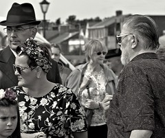 Photo of People on the Green at Lytham, Lancashire