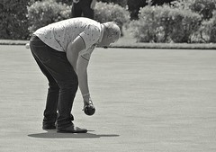 Photo of Bent over bowling at Lytham